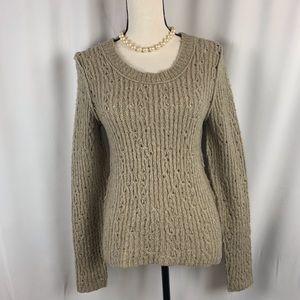 Free People open knit sweater